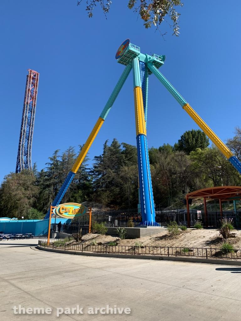 Crazanity at Six Flags Magic Mountain
