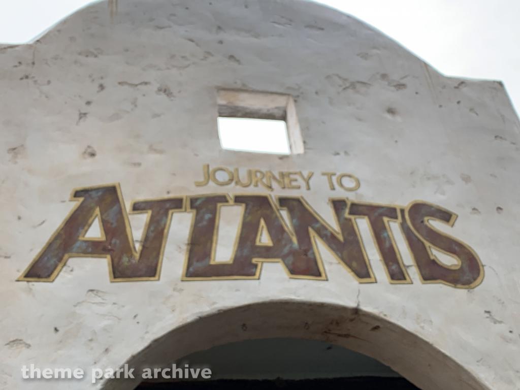 Journey to Atlantis at Sea World Orlando