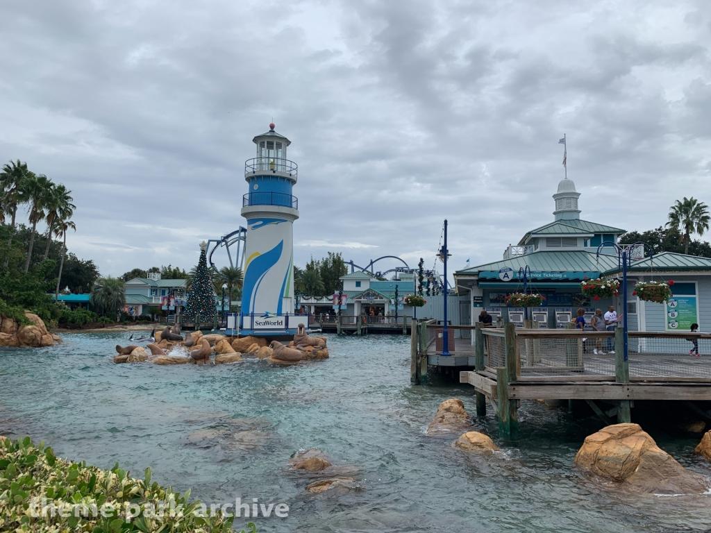 Entrance at Sea World Orlando