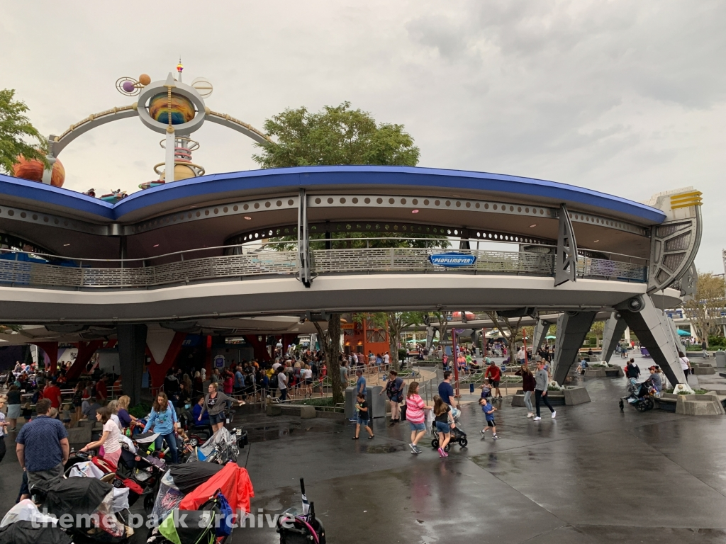 Tomorrowland Transit Authority Peoplemover at Magic Kingdom