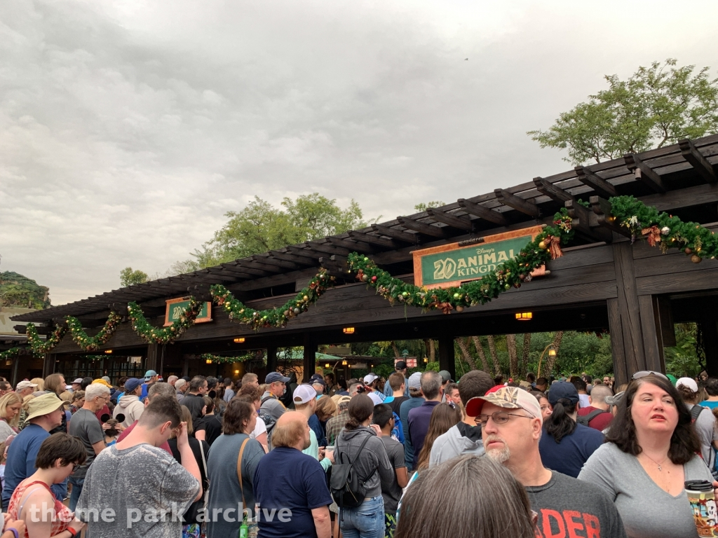 Entrance at Disney's Animal Kingdom