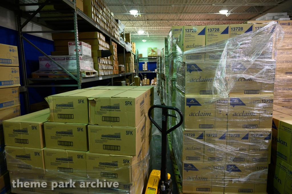 Park Services Warehouse at Cedar Point