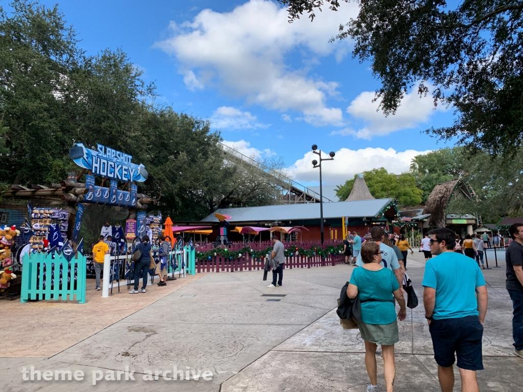 2020 Hybrid Coaster at Busch Gardens Tampa