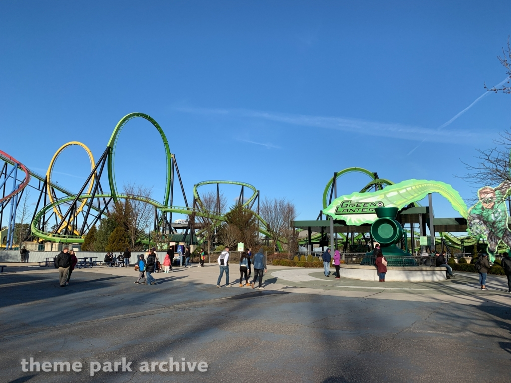 Green Lantern at Six Flags Great Adventure