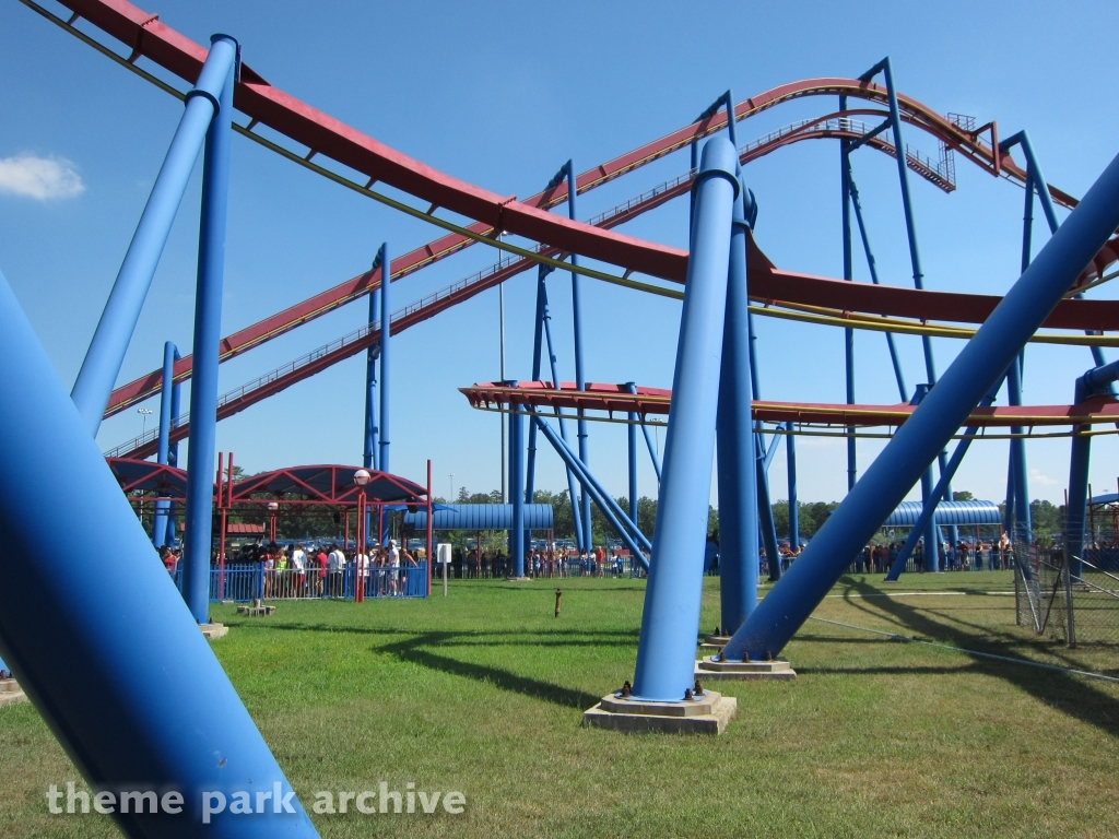 Superman Ultimate Flight at Six Flags Great Adventure