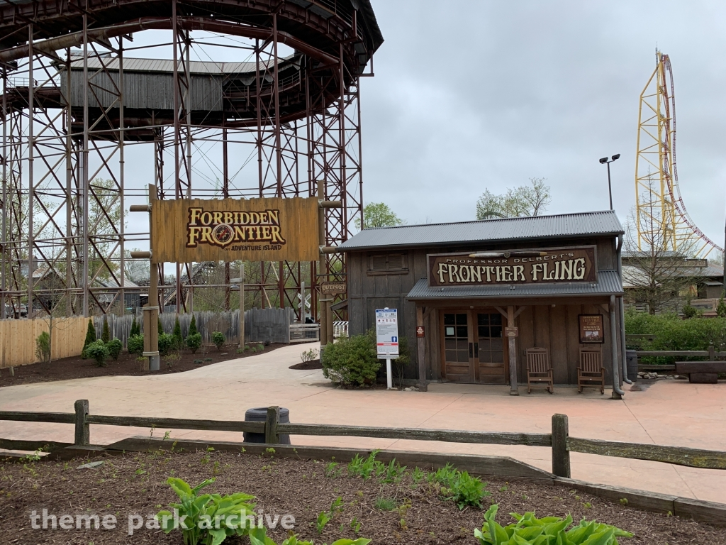Forbidden Frontier on Adventure Island at Cedar Point