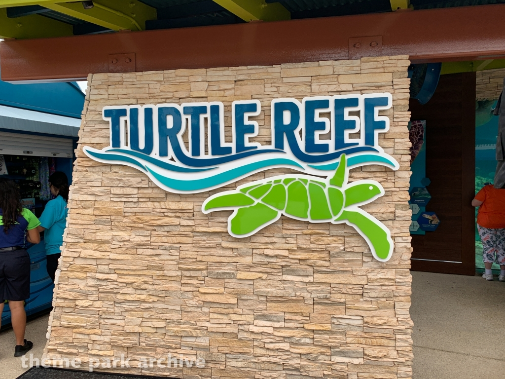 Turtle Reef at Sea World San Antonio