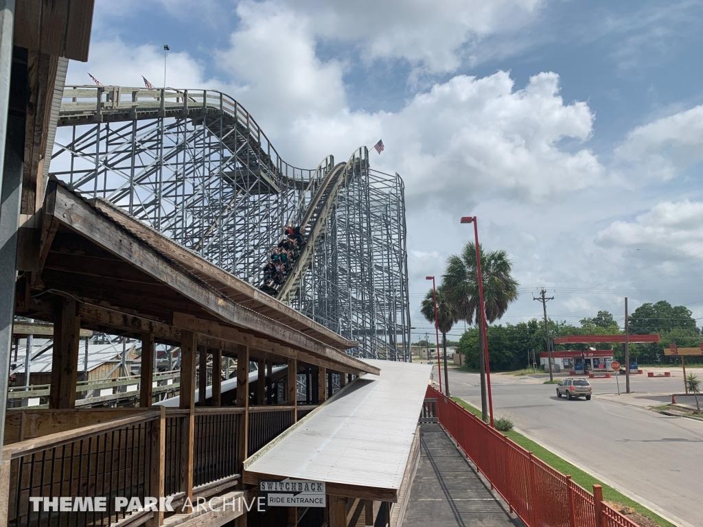 Switchback at ZDT's Amusement Park