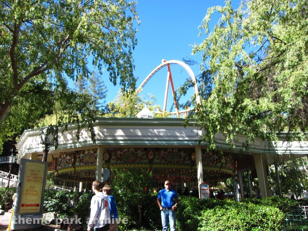 Grand Carousel at Six Flags Magic Mountain