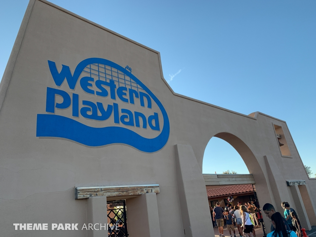 Entrance at Western Playland