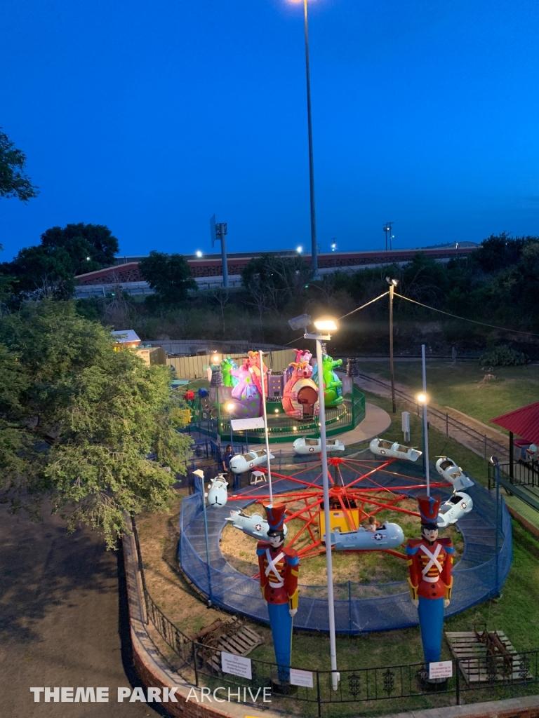 Dizzy Dragon at Joyland Amusement Park