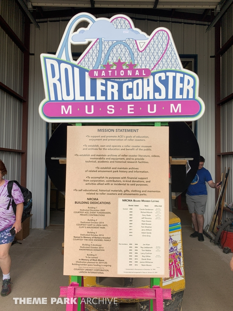 Museum at National Roller Coaster Museum and Archives