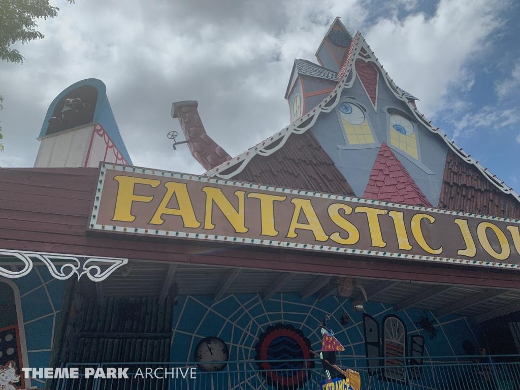 Fantastic Journey at Wonderland Amusement Park
