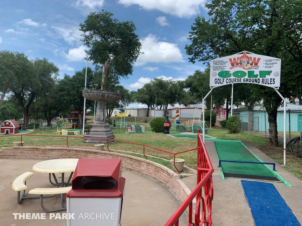 Miniature Golf at Wonderland Amusement Park