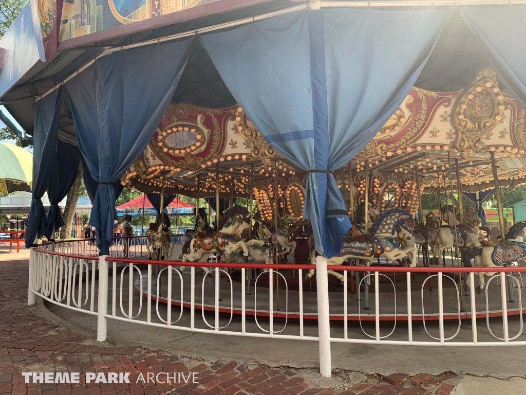 Merry Go Round at Wonderland Amusement Park
