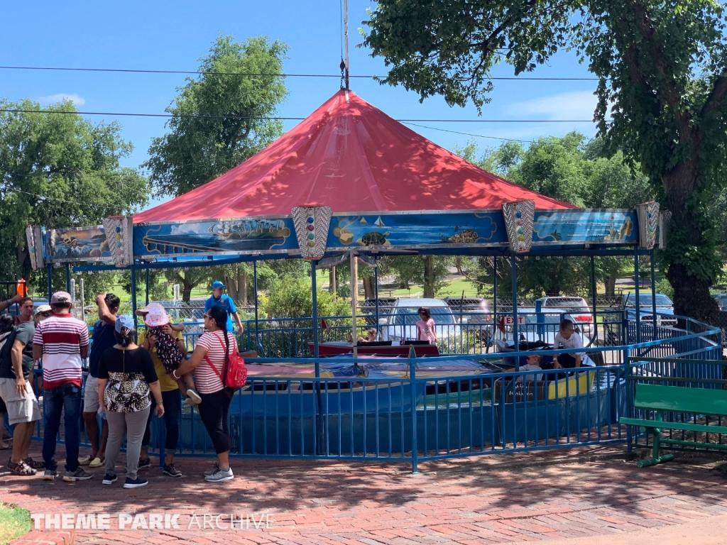 Boats at Wonderland Amusement Park