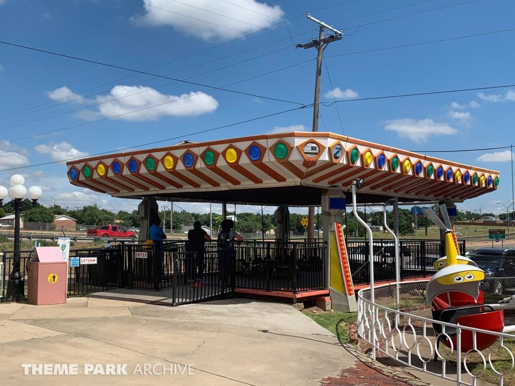 Kiddie Bumper Cars at Wonderland Amusement Park