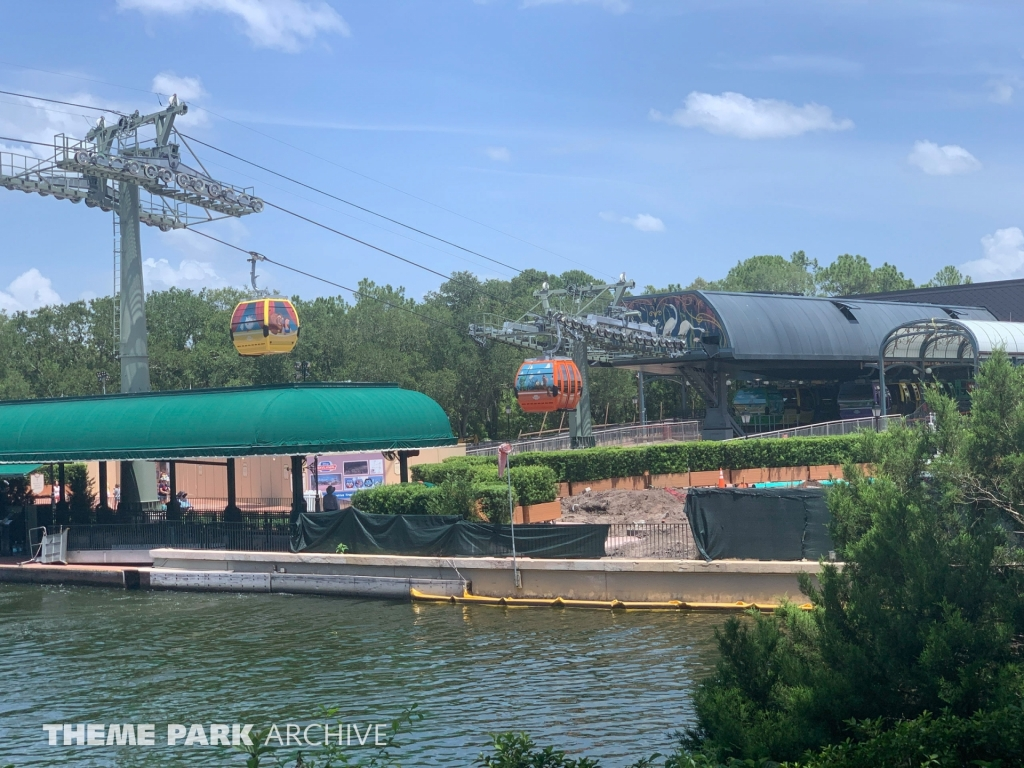 Epcot Skyliner Station at Epcot