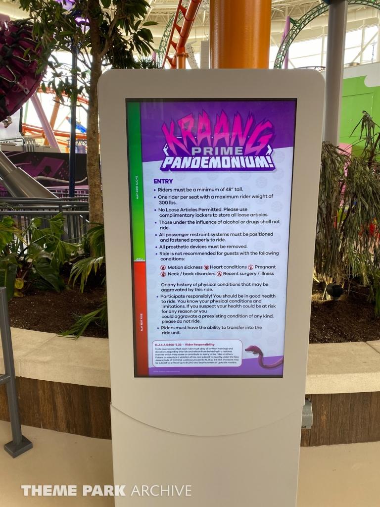 Kraang Prime Pandemonium at Nickelodeon Universe at American Dream