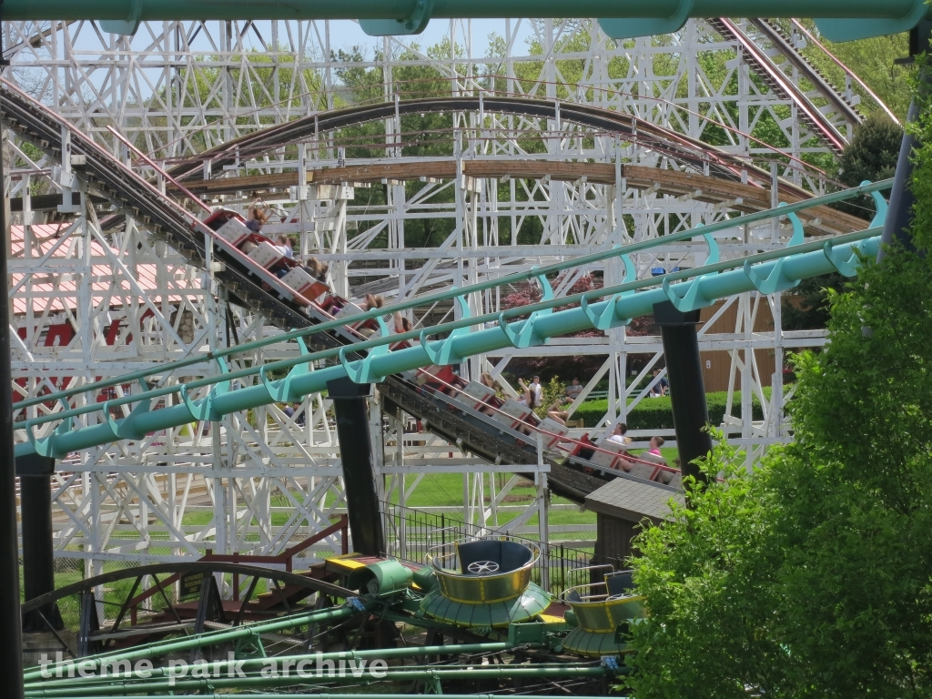 Thunderbolt at Kennywood
