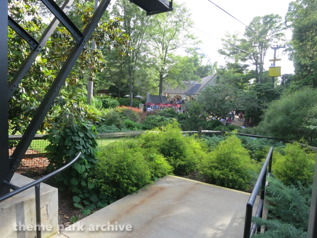 Theme Park Archive Skyride At Busch Gardens Williamsburg