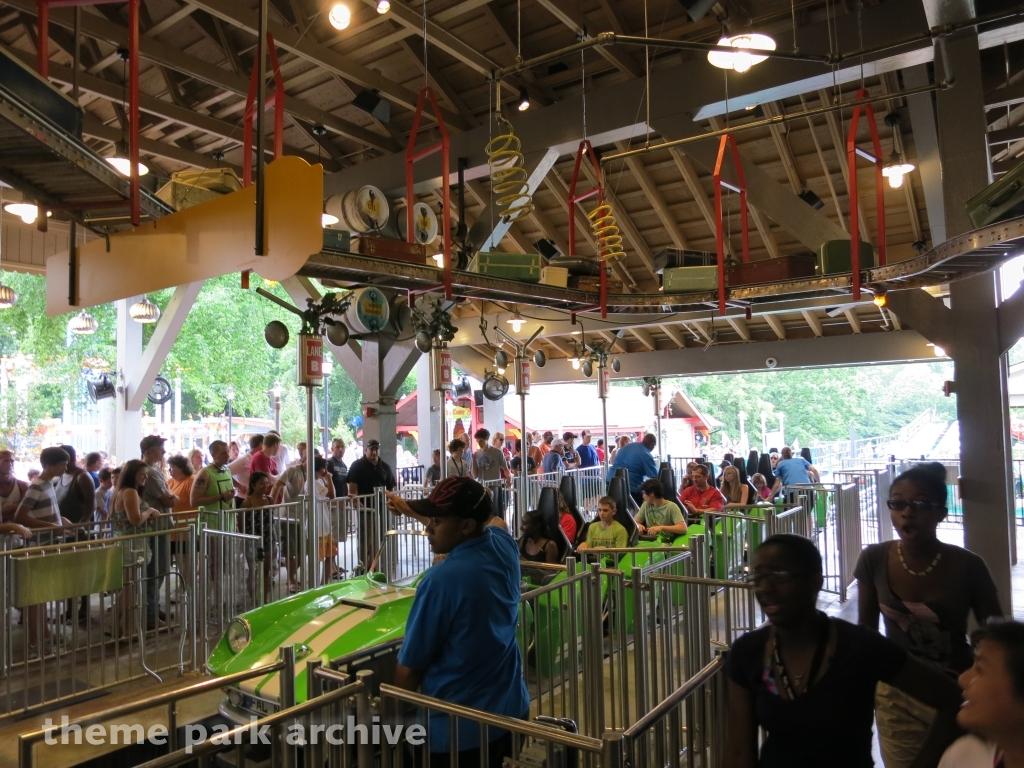Verbolten Busch Gardens Williamsburg 2012 | Theme Park Archive