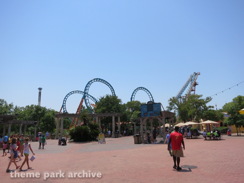 Boomerang Coast to Coaster at Six Flags Fiesta Texas