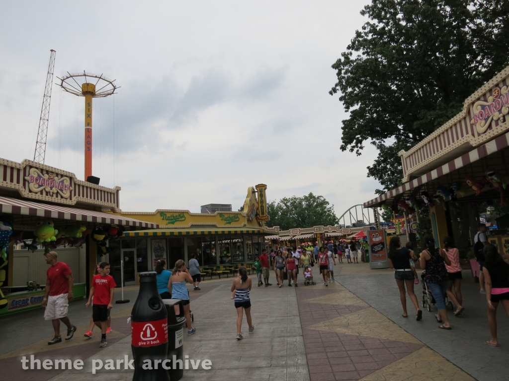 Boardwalk at Six Flags Great Adventure