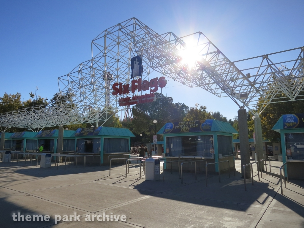 Misc. at Six Flags Magic Mountain