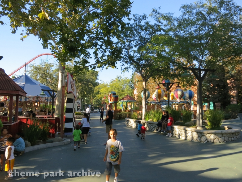 Bugs Bunny World at Six Flags Magic Mountain