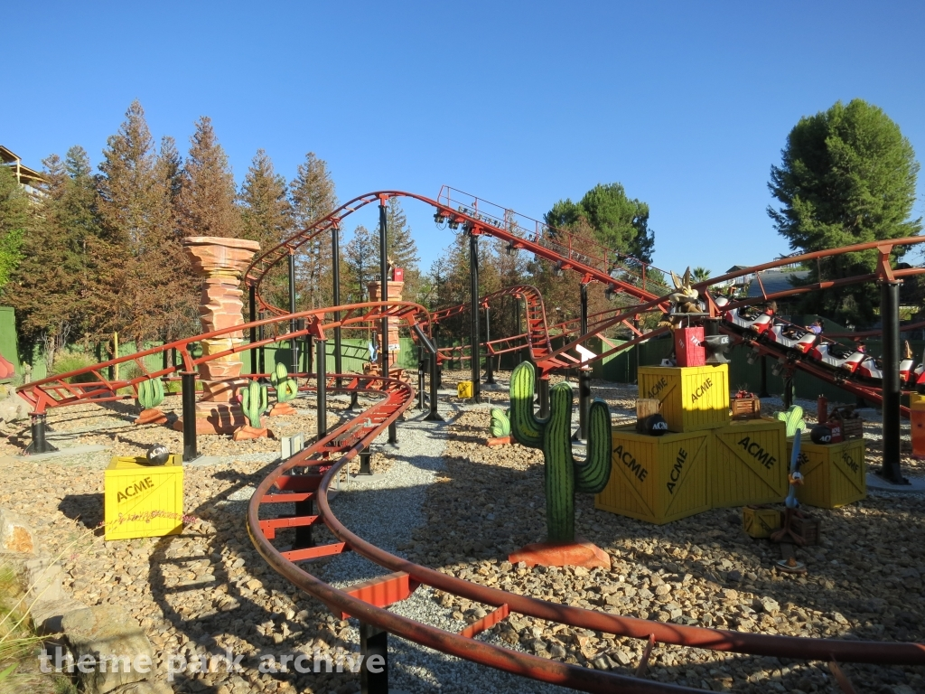 Road Runner Express at Six Flags Magic Mountain