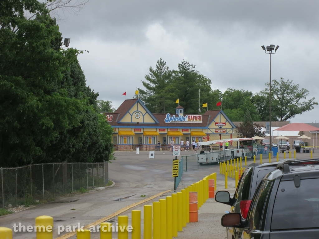 Entrance at Holiday World