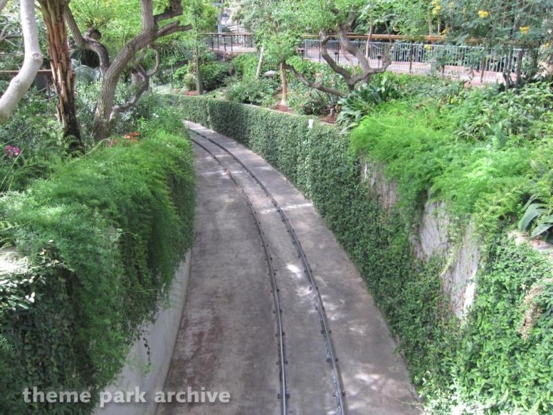Bonfante Railroad Train Ride at Gilroy Gardens