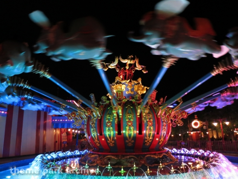Dumbo the Flying Elephant at Magic Kingdom