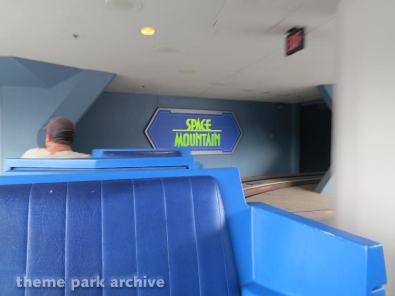 Space Mountain at Magic Kingdom