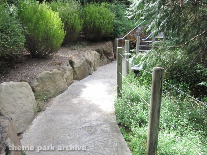 Timber Twister at Gilroy Gardens