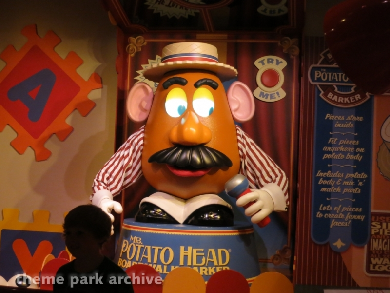 Toy Story Midway Mania at Disney's Hollywood Studios