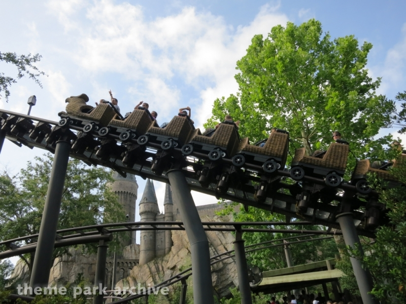Flight of the Hippogriff at Universal Islands of Adventure