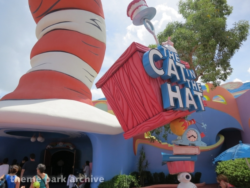 The Cat in the Hat at Universal Islands of Adventure