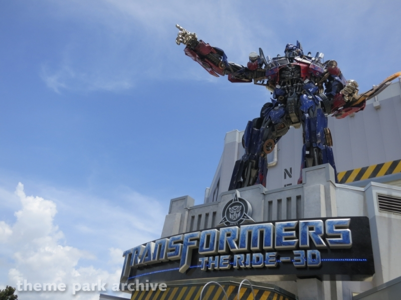 Transformers The Ride 4D at Universal Studios Florida
