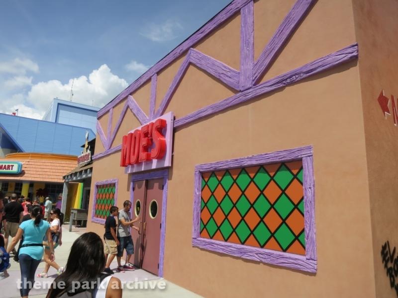 Simpsons Fast Food Boulevard at Universal Studios Florida