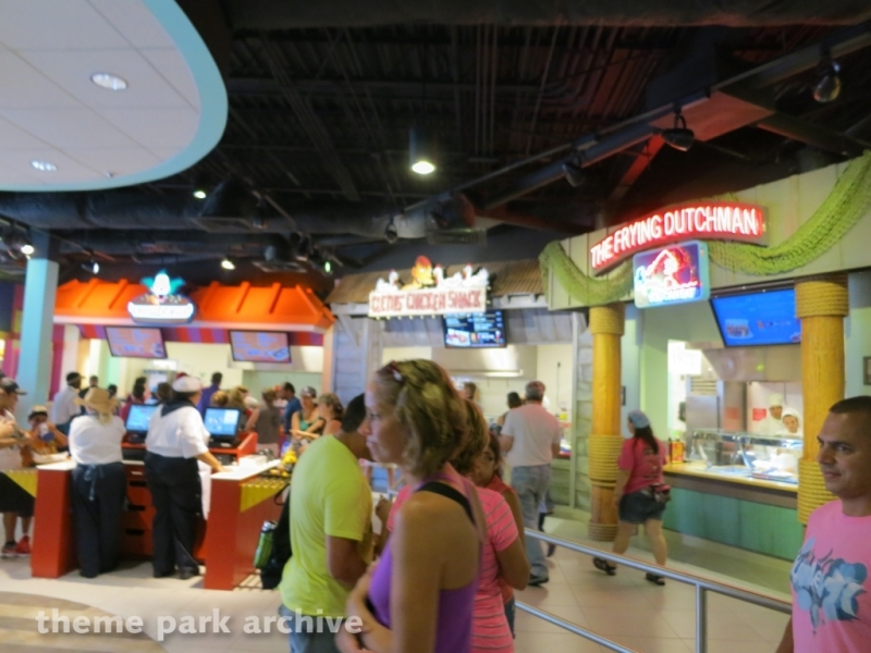 Simpsons Fast Food Boulevard at Universal Studios Florida