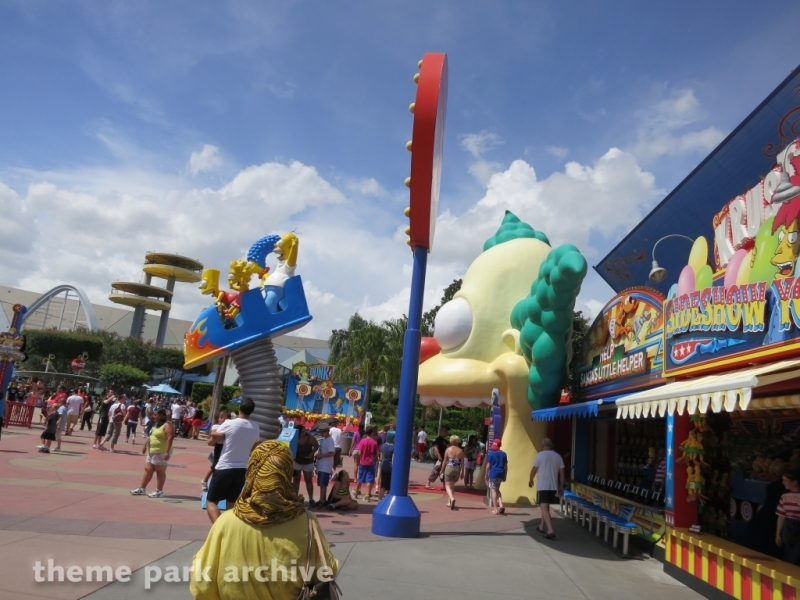 The Simpsons Ride at Universal Studios Florida