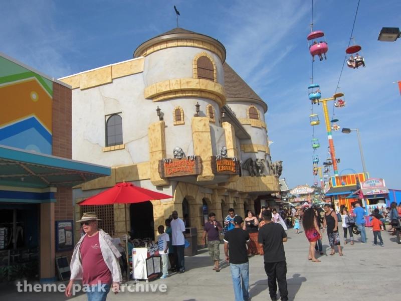 Haunted Castle at Santa Cruz Beach Boardwalk