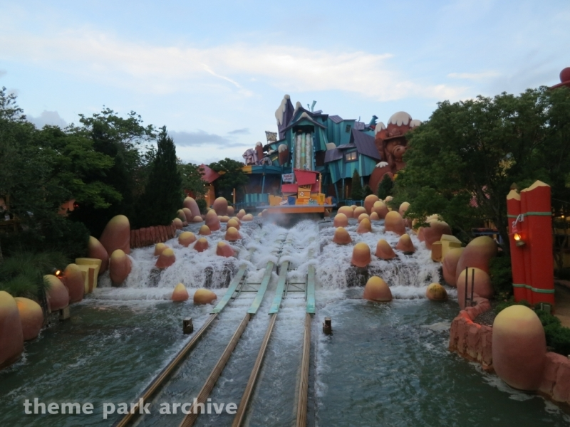 Dudley Do Right's Ripsaw Falls at Universal Islands of Adventure