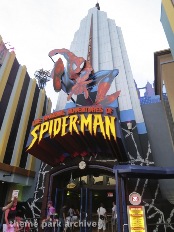 The Amazing Adventures of Spider Man at Universal Islands of Adventure