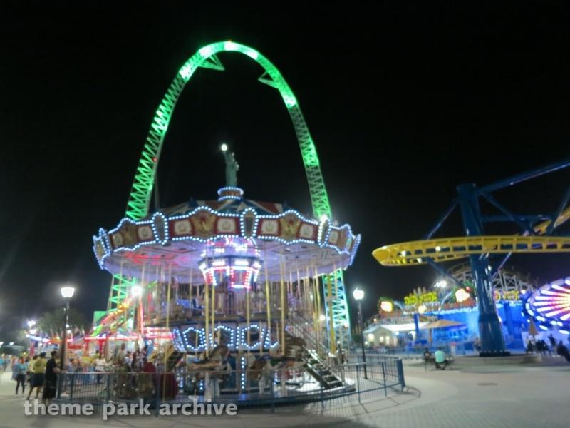 Carousel at Fun Spot America Orlando