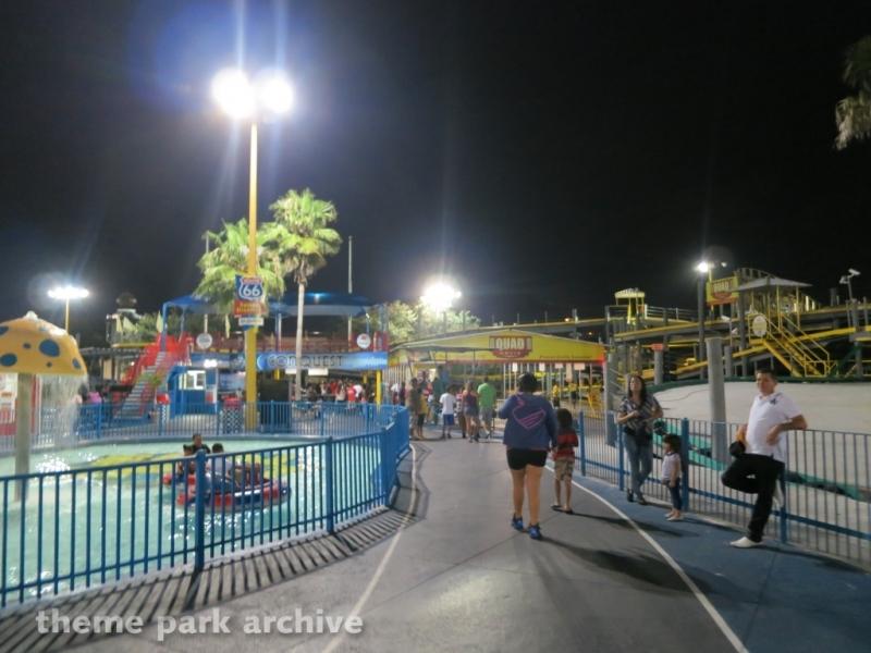Bumper Boats at Fun Spot America Orlando