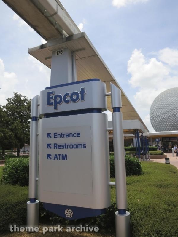 Entrance at EPCOT
