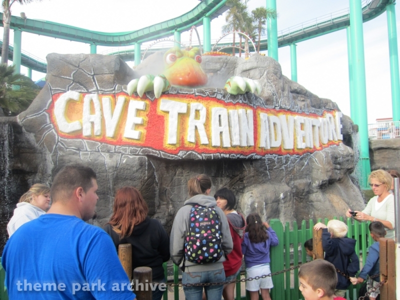 Cave Train Adventure at Santa Cruz Beach Boardwalk